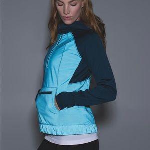 Lululemon let's get visible reflective run hoodie